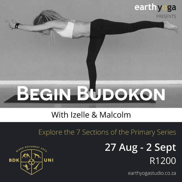 Begin budokon yoga series